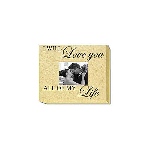 Forest Creations I Will Love You All of My Life Home Frame