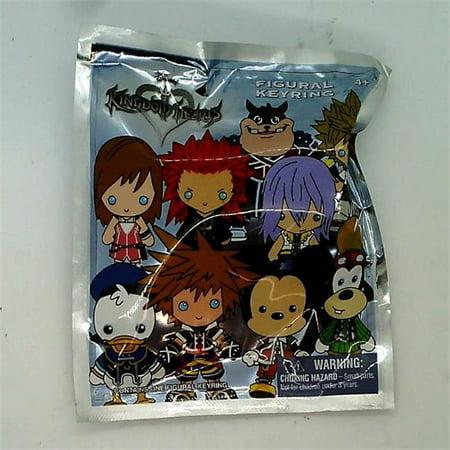 Kingdom Hearts Figural Key Ring Blind Bag Series 1 - 1 Pack (Kingdom Hearts House Key)
