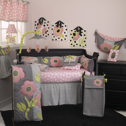 Cotton Tale Poppy 10 Piece Crib Bedding Set