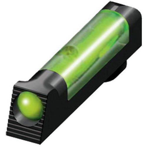 Hiviz GL2009G Front Sight fits Most Glock Fiber Optic, Green Black
