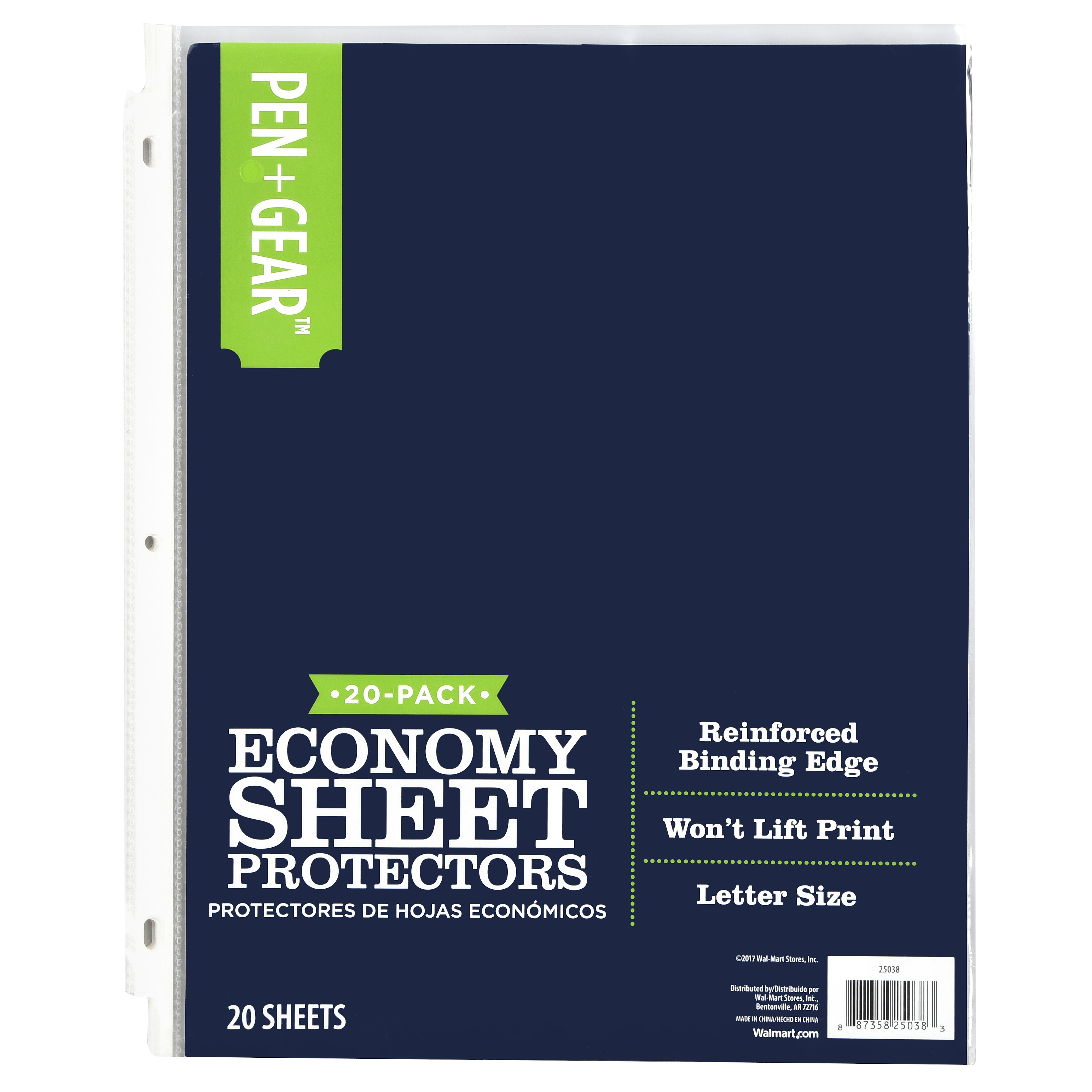 Pen + Gear 20ct Sheet Protector