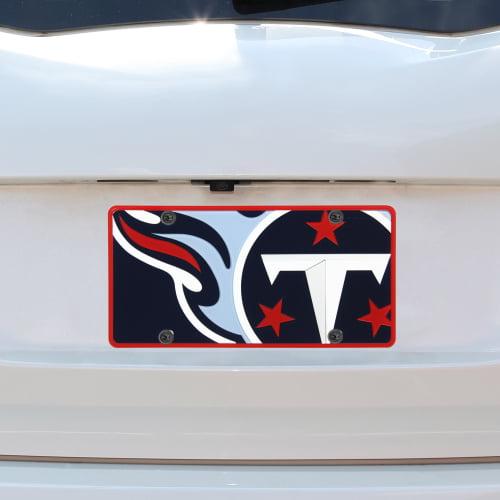 Tennessee Titans Mega Acrylic License Plate - No Size