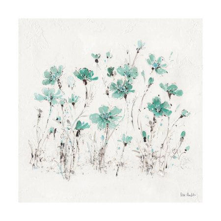 Wildflowers III Turquoise Print Wall Art By Lisa Audit - Wildflower Toronto Halloween