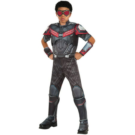 Marvel's Captain America: Civil War Deluxe Muscle Chest Falcon Child Halloween Costume (Kids Captain America)