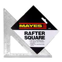 "Great Neck Saw 11059 7"" Aluminum Rafter Angle Square"