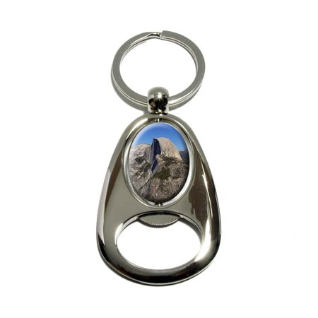Half Dome - Yosemite National Park Spinning Oval Bottle Opener