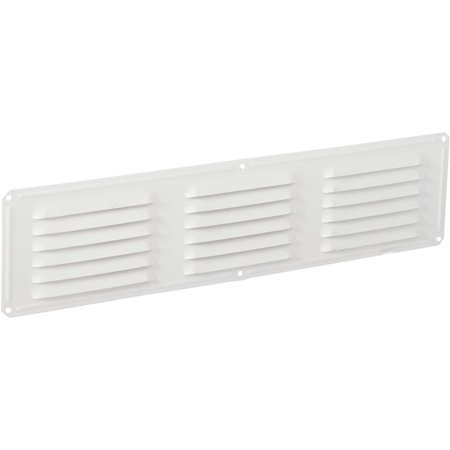 Air Vent Inc. 16x4 White Under Eave Vent 84226 Pack of 24