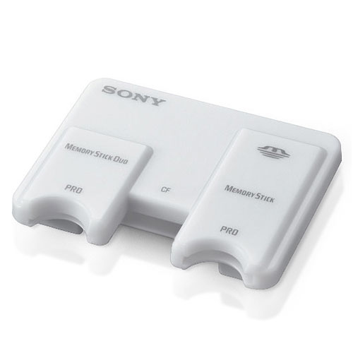 SONY MS AND CF USB CARD READER ( MSAC-USM1 ) (Retail Package)