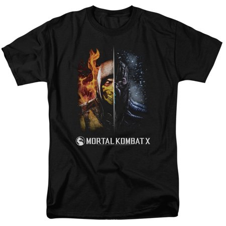 Mortal Kombat - Fire And Ice - Short Sleeve Shirt -