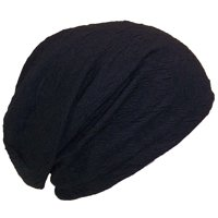 775ecdcd Product Image David & Young Womens Floral Design Lightweight Loose Knit  Beanie (One Size) - Black