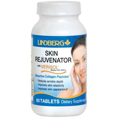 Lindberg Skin Rejuvenator with Verisol, 90 Tablets, Bioactive Collagen Peptides