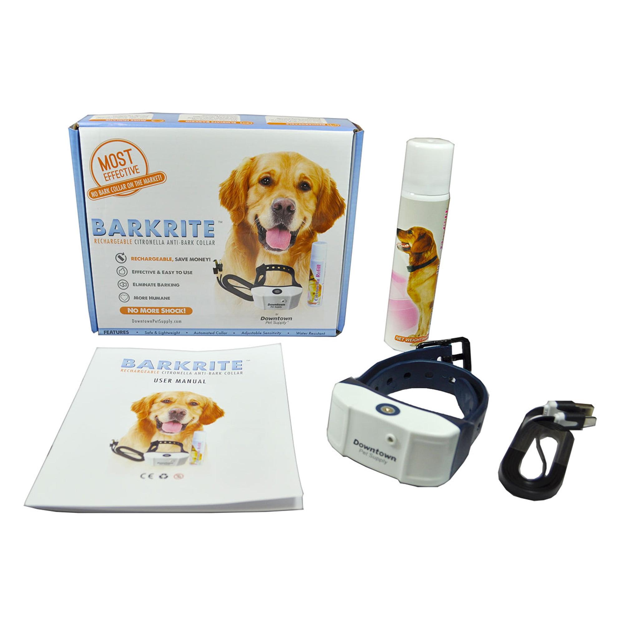 Rechargeable USB Citronella Dog Training Collar w/ Tone &...