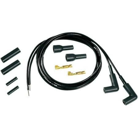 Accel 5mm Thundersport Universal Plug Wire Set, Black
