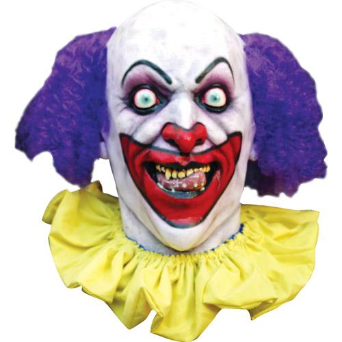 Scary Clown Halloween Mask - Walmart.com Scary Halloween Clown Masks