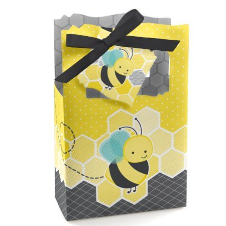 Honey Bee - Party Favor Boxes - Set of 12