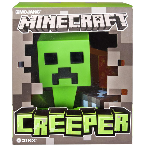 "Minecraft 6"" Vinyl Creeper Figure by Spin Master Toys"