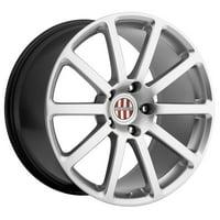 Victor Equipment Zehn 18x11 5x130 +36mm Hyper Silver Wheel Rim