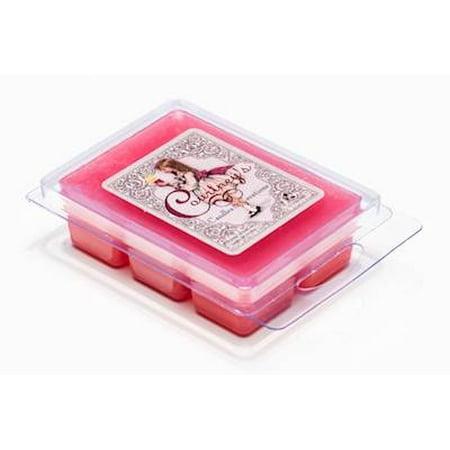 Rose Tart (MIDNIGHT ROSE 10-Pack Mixer Melt or Wax Tart by Courtneys Candles - 2.5 Ounces Each )