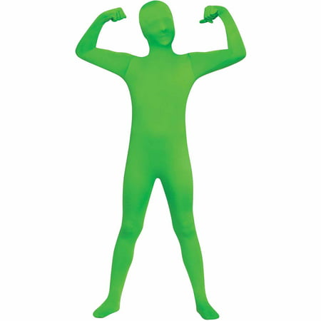 Diy Green Halloween Costumes (Green Skin Suit Child Halloween)