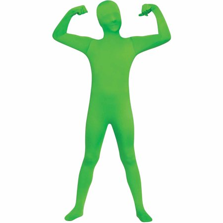 Spy Suits For Kids (Green Skin Suit Child Halloween)