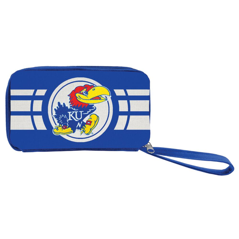 Kansas Ripple Zip Wallet