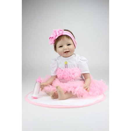 Reborn Newborn Baby Realike Doll Handmade Lifelike Silicone Vinyl Doll