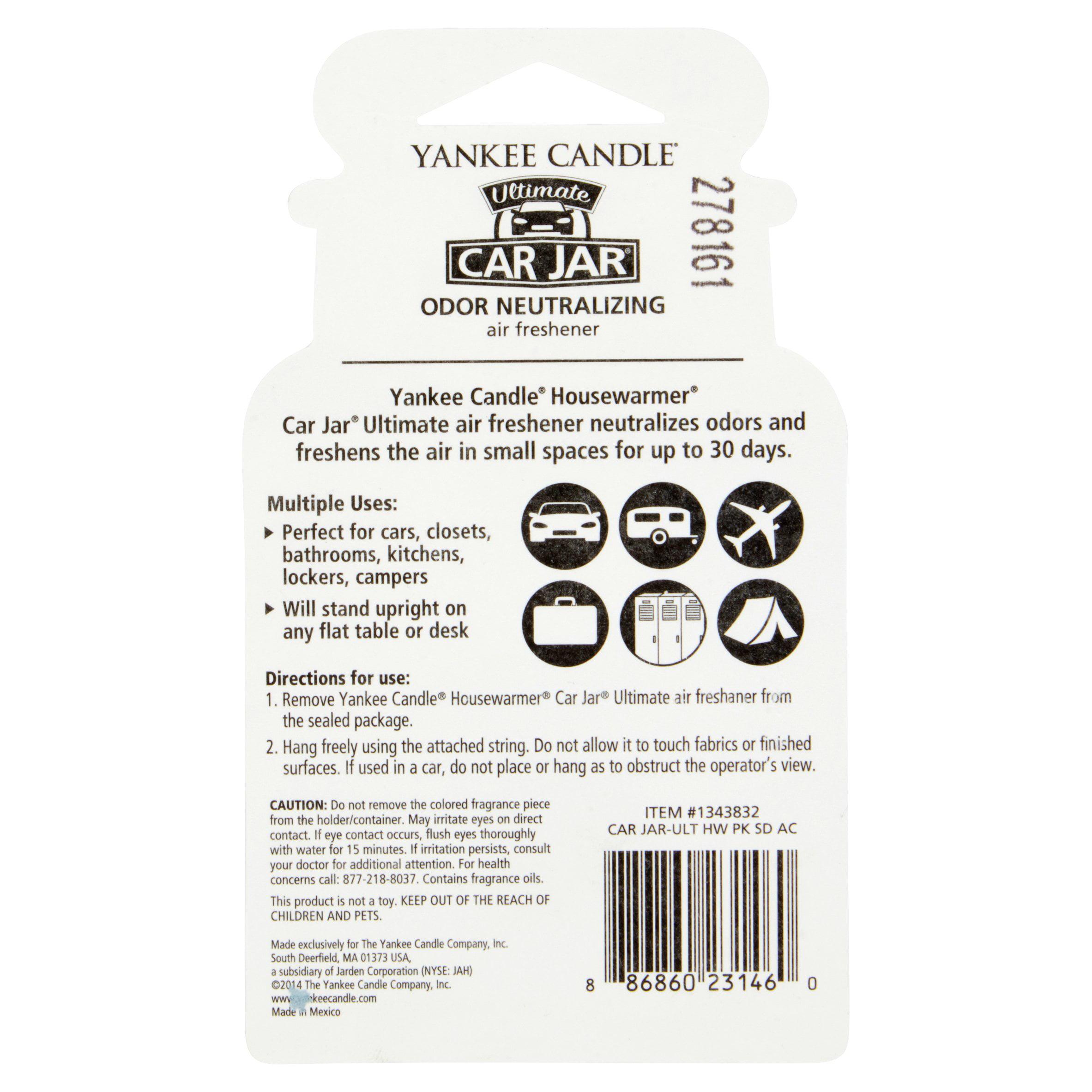 Yankee Candle Car Air Freshener, Pink Sands, 1 Count - Walmart.com