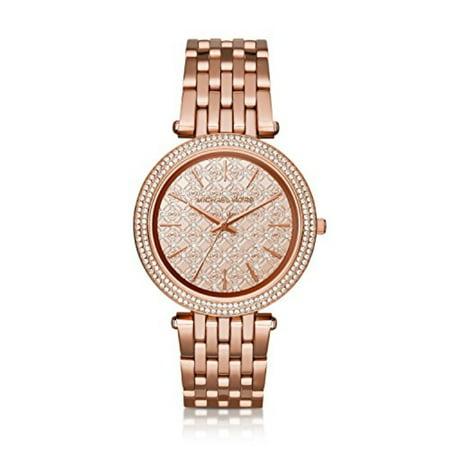 Michael Kors Women's Darci Rose Gold-Tone Bracelet Watch