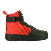 Mens Nike Special Field Air Force 1 Mid QS Cargo Khaki Total Crimson A