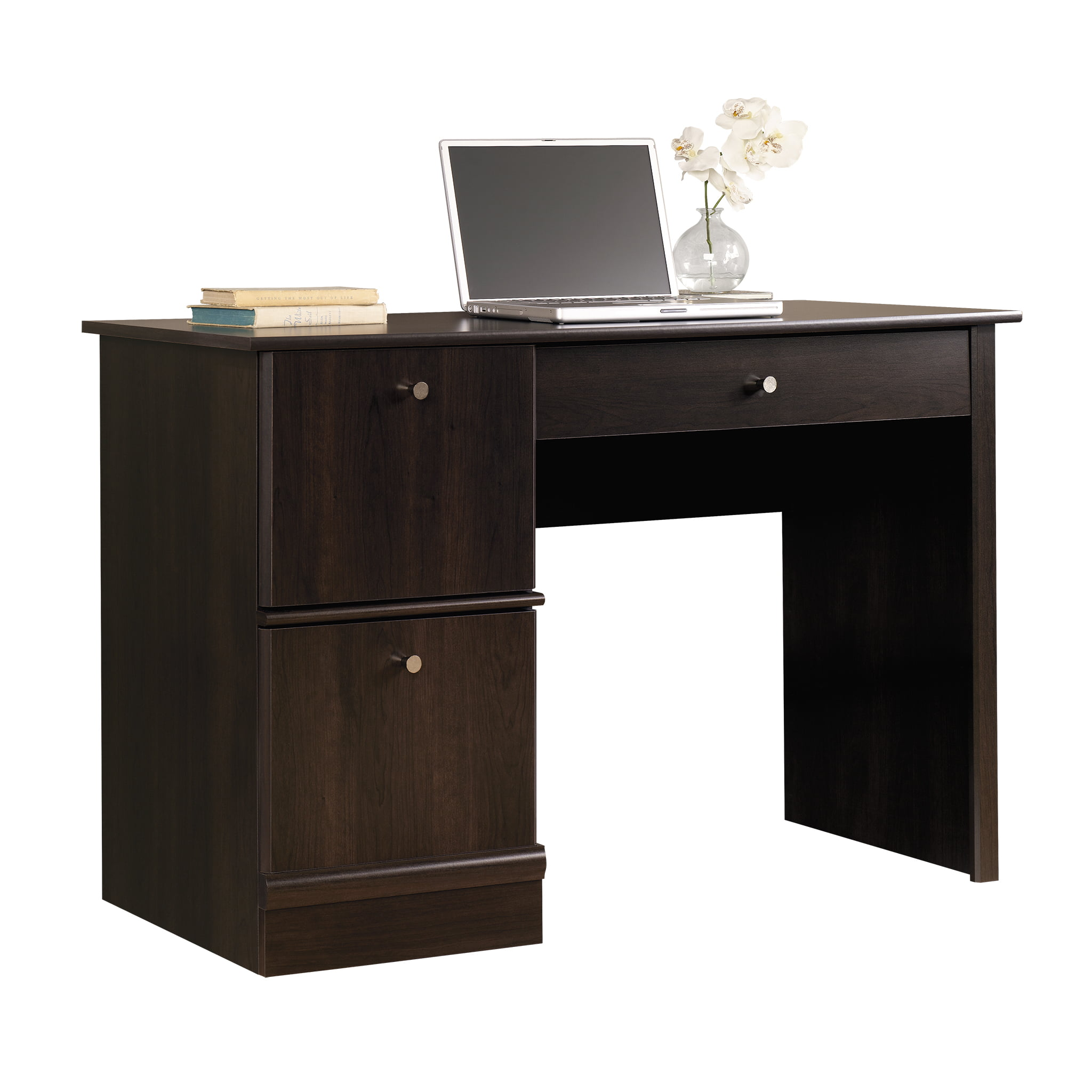Sauder Computer Desk, Cinnamon Cherry Finish - Walmart.com