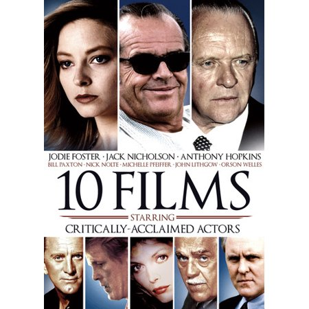 10-Film Critically Acclaimed Actors (DVD) (Jack Nicholson Best Actor)