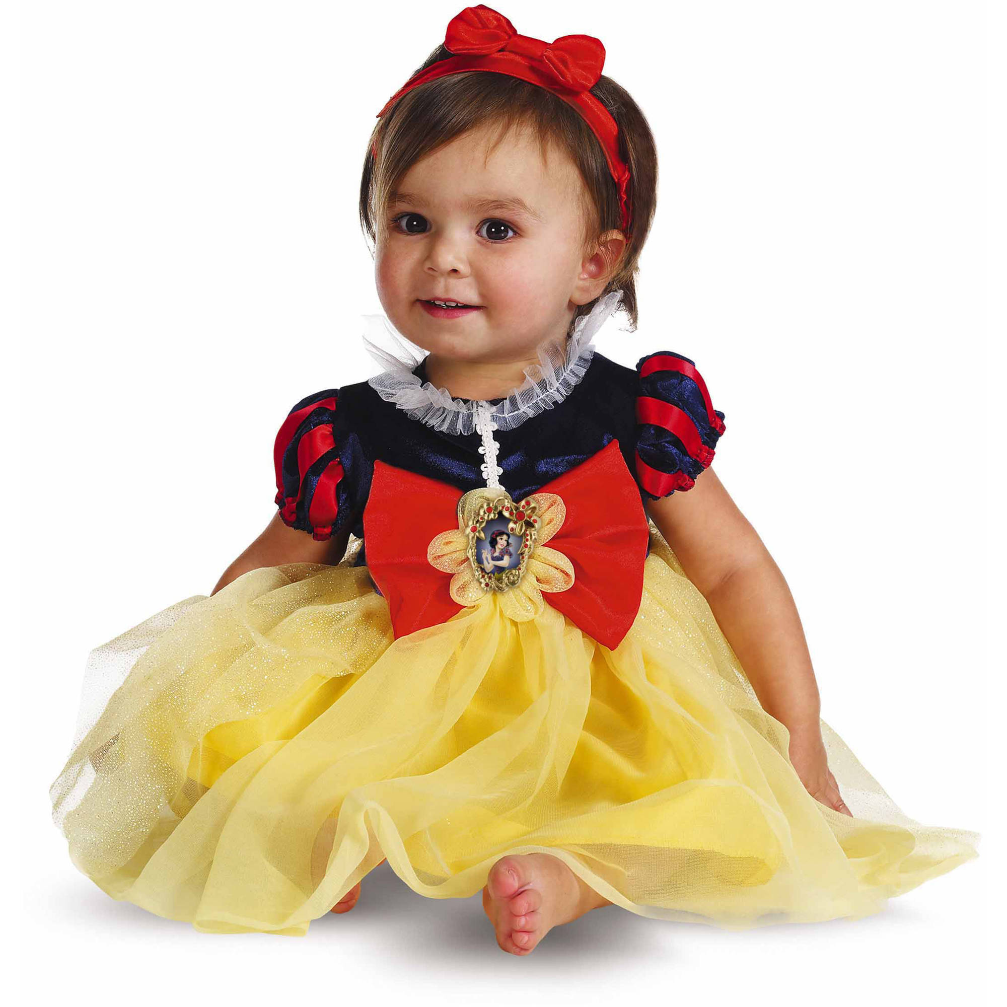 Snow White Deluxe Girls' Toddler Dress Up / Halloween Costume