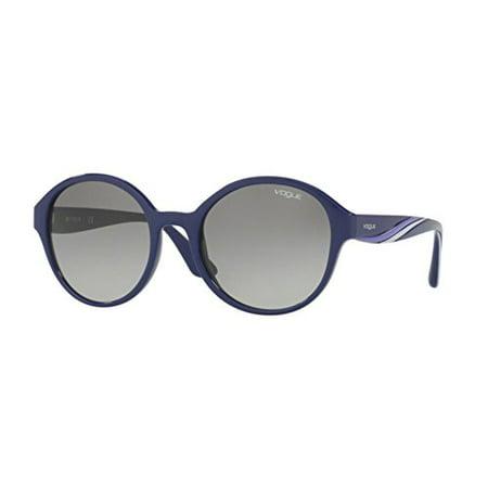 Vogue Blue Sunglasses (Vogue VO5106S Sunglasses 246411-54 - Blue Frame, Grey Gradient)