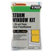 """FROST KING P714A Weatherstrip, Plastic, 6'L x 36""""W"""