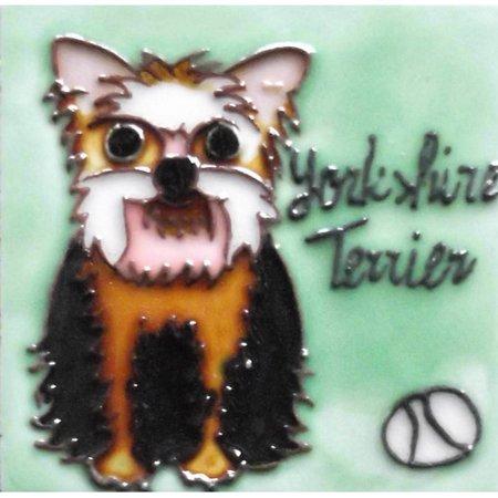 Continental Art Center Dog Tile Magnet