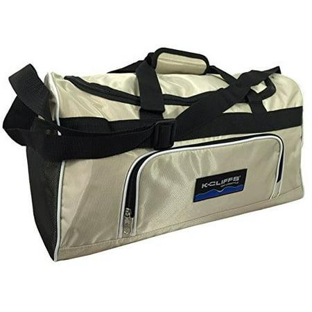 Sport Duffel Bag Fitness Gym Bag Luggage Travel Bag Sports Equipment Gear  Bag, Beige - Walmart.com 567acedeb9