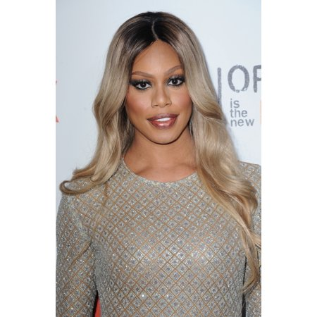 Laverne Cox At Arrivals For Orange Is The New Black Season Four Premiere On Netflix Rolled Canvas Art     8 X 10