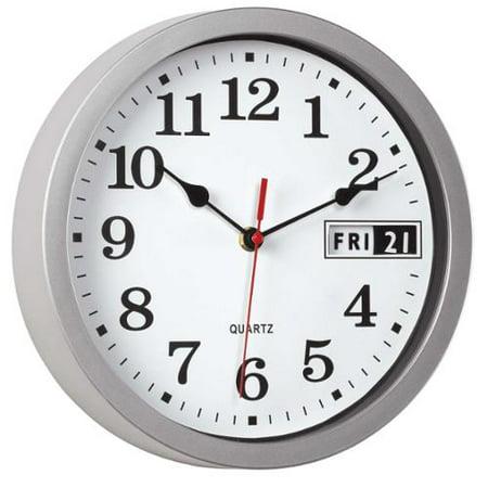 Retro Calendar Wall Clock