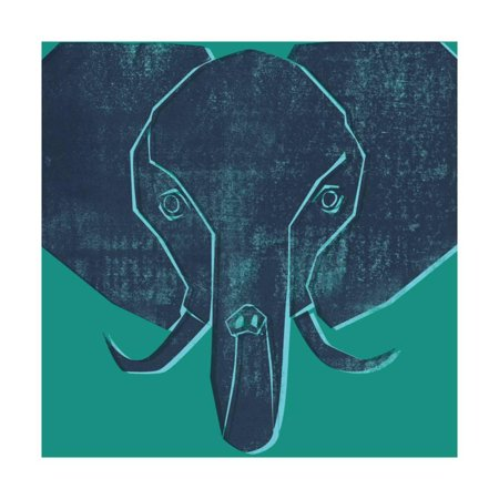 3330 Wall - Elephant Print Wall Art