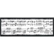 Illumalite Designs Musical Notes Framed Graphic Art