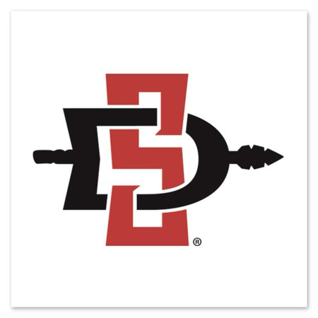 San Diego State Aztecs Temporary Tattoo - 4 Pack