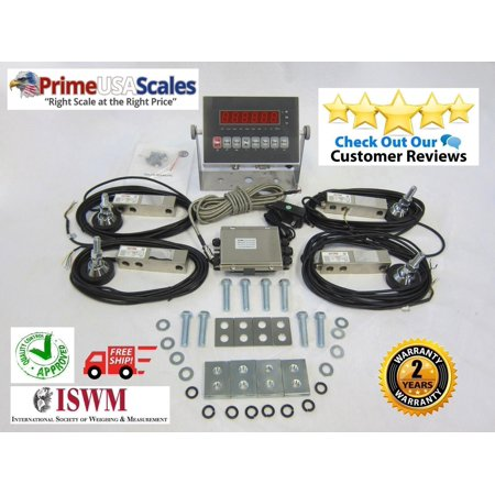 Floor Scale Kit Livestock Stock Kit Build Your Own Scale Load Cells 2,500