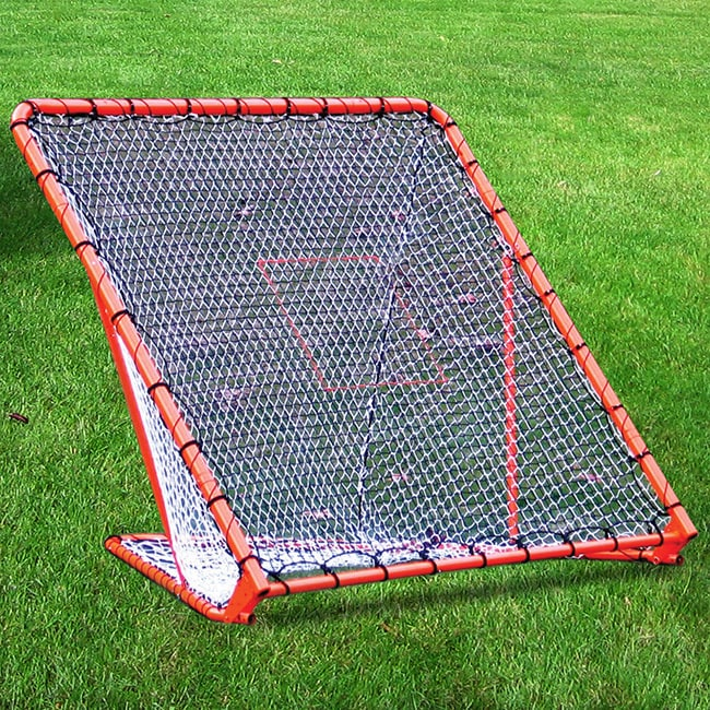 New England Outdoor & Recreational Products LLC. Lacrosse Folding Goal with Tilting Throwback