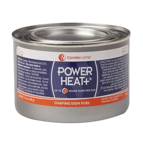 Sterno Candle Lamp Power Heat Plus 2 hr Handy Chafing Fue...