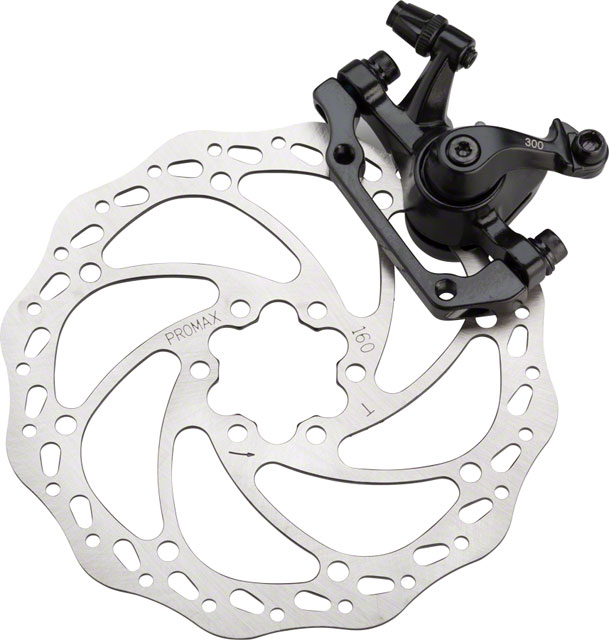 Promax Dsk 300 Mechanical Disc Brake Is Mount With 160mm Rotor Black