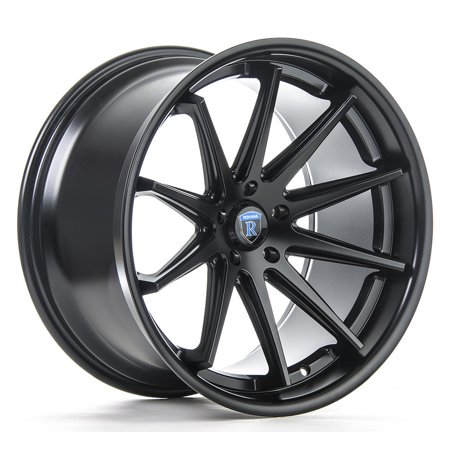 19  Inch Rohana Rc10 Matte Black Wheels Rims Only   Set Of 4   Financing Available   Inifiniti Audi Mercedes Bmw Dodge Chevy Chrysler Ford Nissan Lexus
