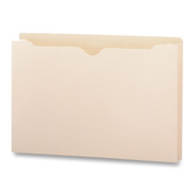 Business Source BSN65803 File Pocket- Straight Cut Tab- 2inch Exp. - Legal- Manila