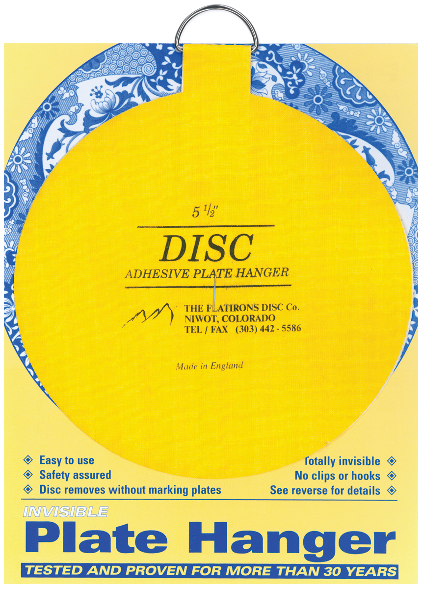 Flatiron Disc Invisible Plate Hanger 5.5\