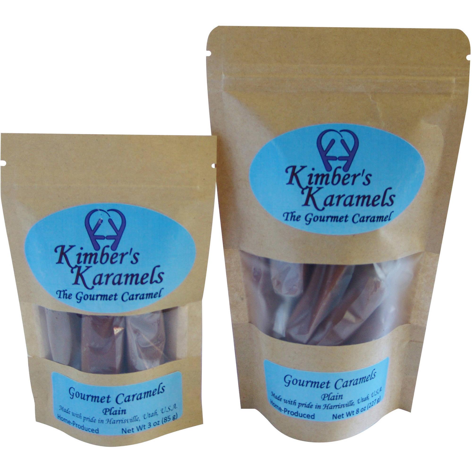 Kimber's Karamels Plain Caramels, 8 oz by Kimber's Karamels LLC