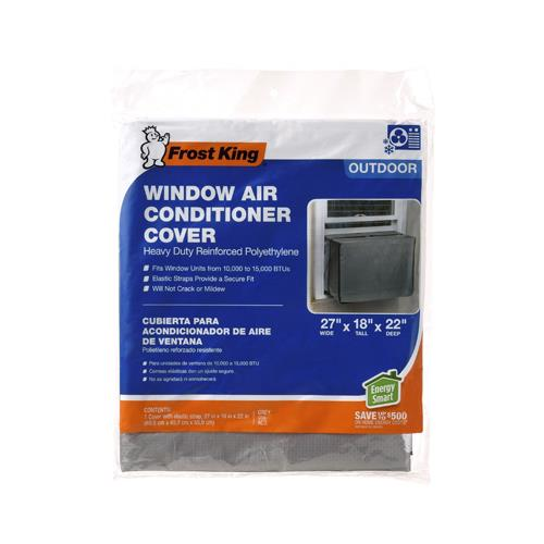 """Thermwell AC3H Outdoor Window Air Conditioner Cover, 27"""" ..."""